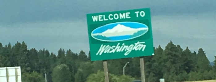 Idaho / Washington State Line is one of Jonathan & Sara IA to WA.