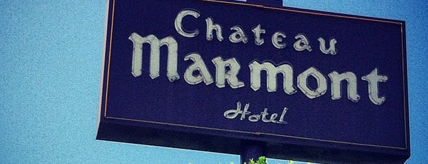 Château Marmont is one of Bars and Restaurants LA.