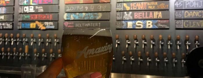 Amazing Brewing Company is one of สถานที่ที่บันทึกไว้ของ Thomas.