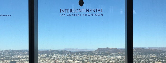 InterContinental Los Angeles Downtown is one of Yinan'ın Beğendiği Mekanlar.