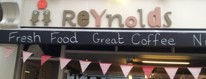Reynolds is one of Specialty Coffee Shops (London).