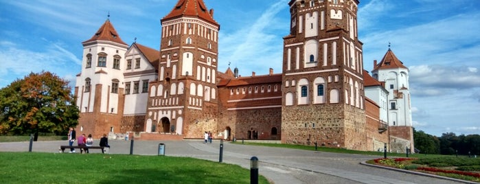 Мірскі замак / Mir Castle is one of Posti che sono piaciuti a Ali.