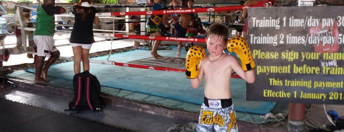 Sityodtong International Boxing Camp is one of สถานที่ที่ Chuck ถูกใจ.