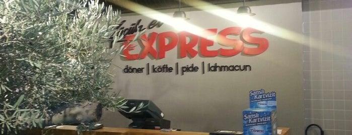 Küçük Ev Express is one of Lugares favoritos de Yigit.