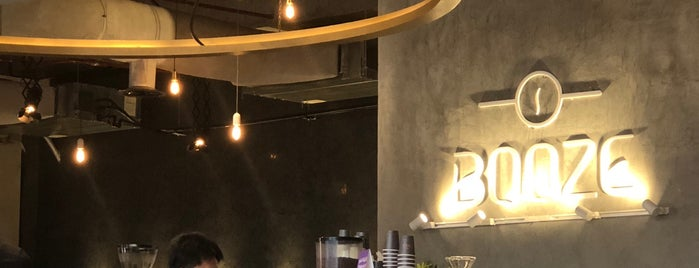 BOOZE Speciality Coffee Bar is one of สถานที่ที่บันทึกไว้ของ Overseas.
