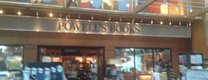 Powell's Books at PDX: Concourse C is one of Used Book Stores in Airports.