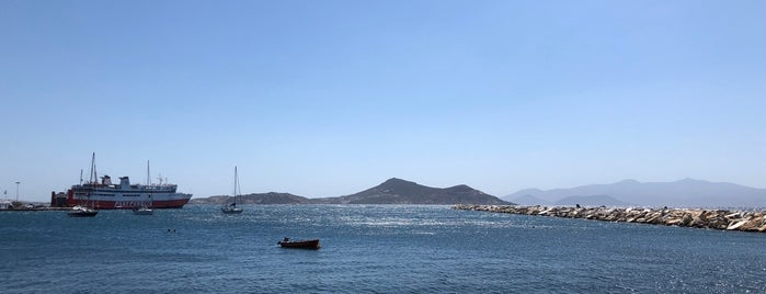 Palatia Island is one of Naxos.