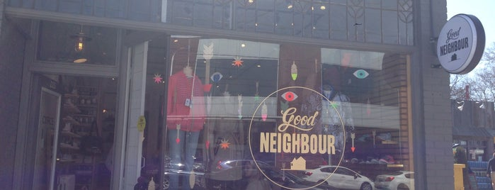Good Neighbour is one of Toronto.