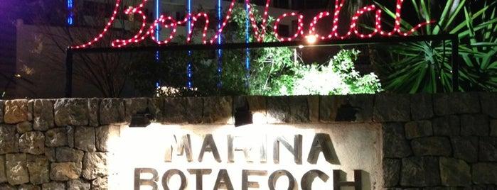 Marina Botafoc is one of Ibiza.