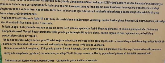 Sinop Tarihi Cezaevi is one of Lieux qui ont plu à 🌜🌟hakan🌟🌛.