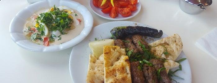 Volkan şiş Köfte piyaz is one of antalya.
