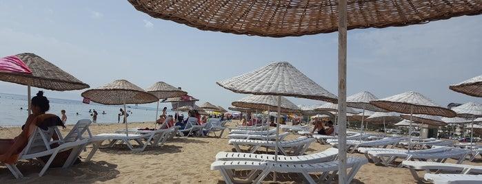 Sarımsaklı Plajı is one of Lugares favoritos de 🌜🌟hakan🌟🌛.