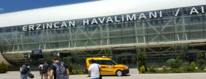 Erzincan Havalimanı (ERC) is one of Locais curtidos por 🌜🌟hakan🌟🌛.