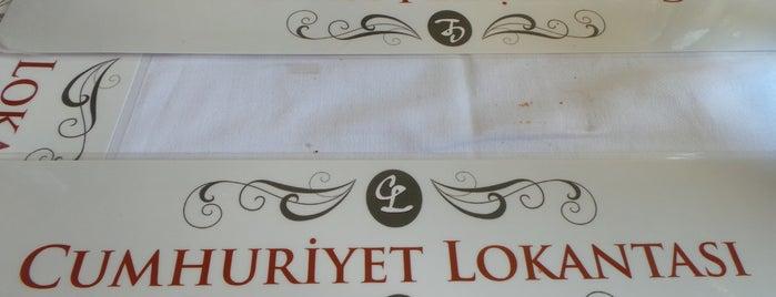 Cumhuriyet Lokantası is one of Orte, die 🌜🌟hakan🌟🌛 gefallen.