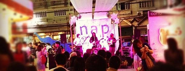 NAP (Nimmanhaemin Art & Design Promenade) is one of Chiang Mai To Do.