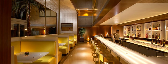 The Bar @ LvL25 at Conrad Miami is one of MIA.
