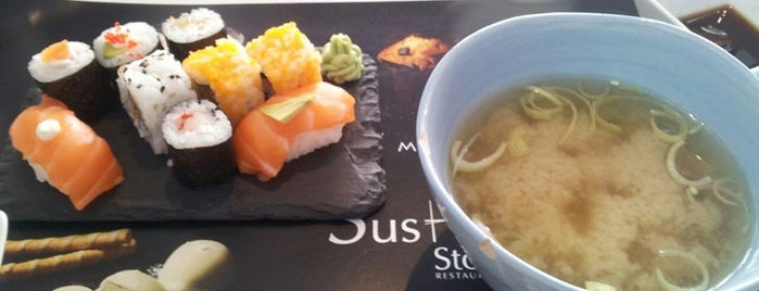 Sushi Store Express is one of Favourite Places.