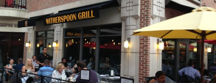 Witherspoon Grill is one of Locais curtidos por Eileen.