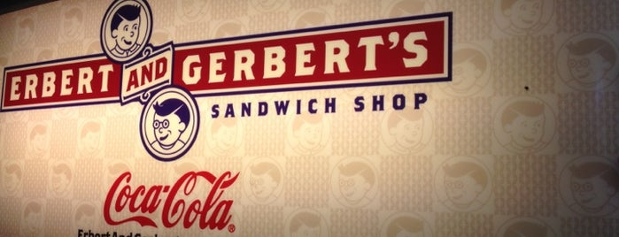 Erbert and Gerbert's is one of Orte, die Jt gefallen.