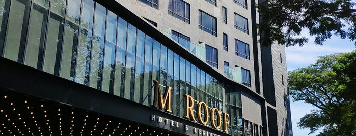 M Roof Hotel & Residences by Ariva is one of Rahmat'ın Beğendiği Mekanlar.