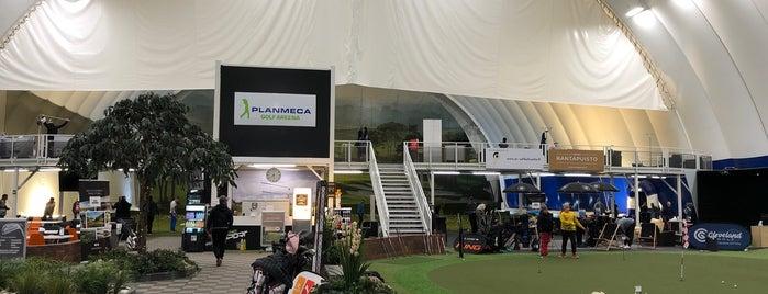 Golf winter training centers in Finland