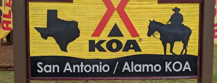 San Antonio KOA Holiday is one of Lieux qui ont plu à Jake.