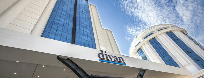 Divan Hotel is one of Lieux sauvegardés par Aydın.