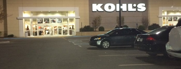 Kohl's is one of Places To Shop.