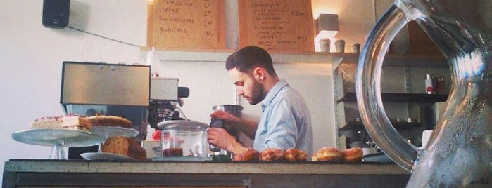 Esters is one of Specialty Coffee Shops Part 2 (London).
