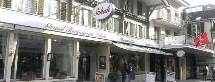 Schuh - Grand Restaurant is one of Interlaken.
