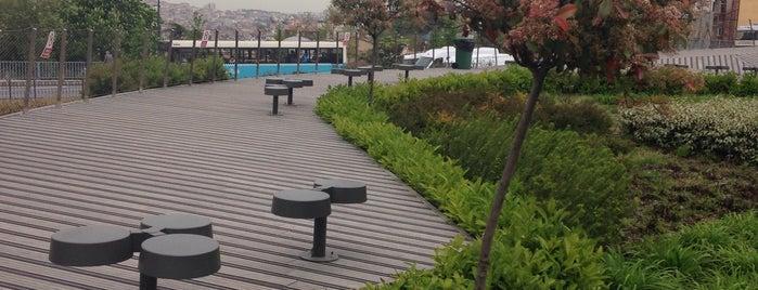 Şişhane Park is one of Türkiye Mimarlık Yıllığı 2014.