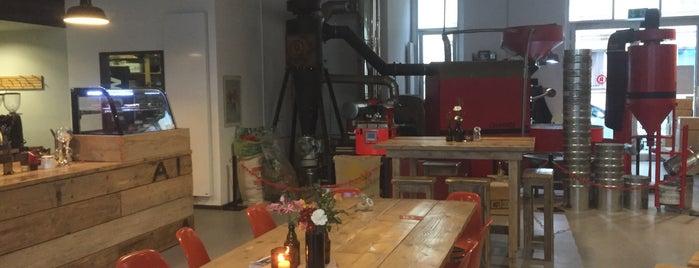 Rösttrommel is one of Europe specialty coffee shops & roasteries.