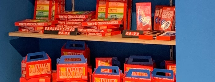 Tony's Chocolonely Store is one of Amsterdam.