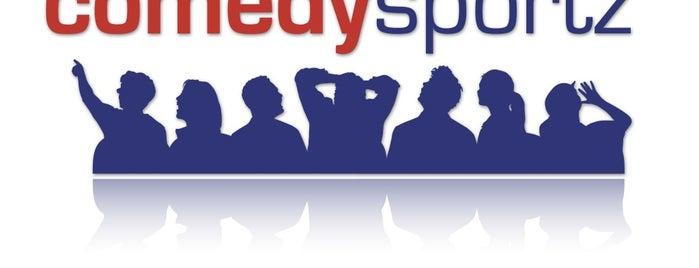 ComedySportz is one of EUA - Oeste.