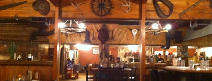 Buffalo Jump Saloon & Steakhouse is one of Wyoming.