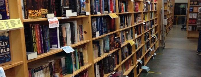 Powell's City of Books is one of Portlandia Pilgrimage.