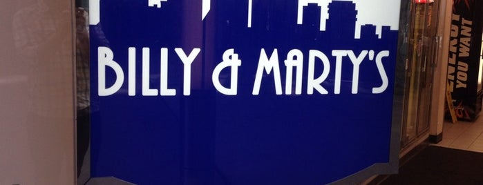 Billy & Marty's is one of Locais curtidos por Alan.