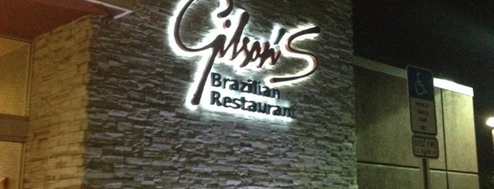 Gilson's Brazilian Restaurant is one of Florida.