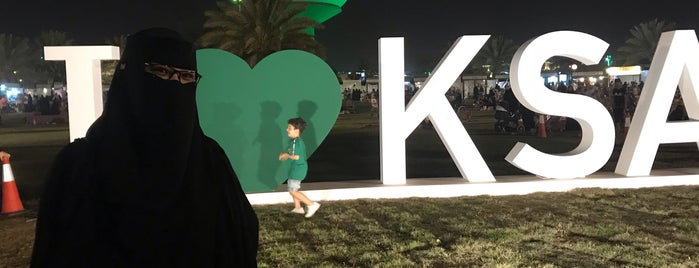 King Khalid Park is one of Locais curtidos por Midnight.