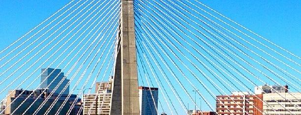 Bunker Hill Bridge is one of Boston.
