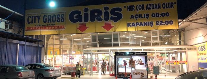 CİTY GROSS is one of Tempat yang Disukai Fatih.