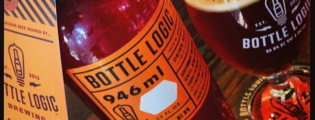 Bottle Logic Brewing is one of San Diego Breweries.