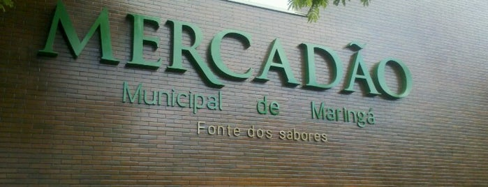 Mercadão Municipal de Maringá is one of MGA.