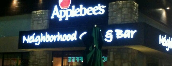 Applebee's is one of Trabajos posibles.