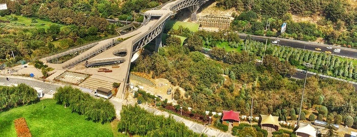 Tabiat Bridge | پل طبیعت is one of Tehran.