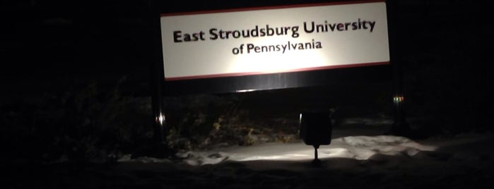 East Stroudsburg University is one of Posti salvati di Lizzie.