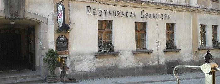 Restauracja Graniczna is one of Lewando : понравившиеся места.