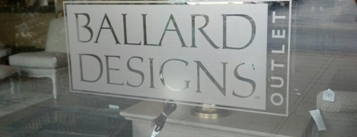 Ballard Designs Outlet is one of Furniture Finds.