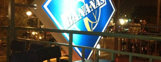 Banana's Café is one of Guadalajara II.