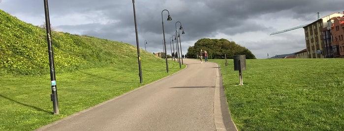 Skatepark Cimadevilla is one of Skate Spots Gijon.